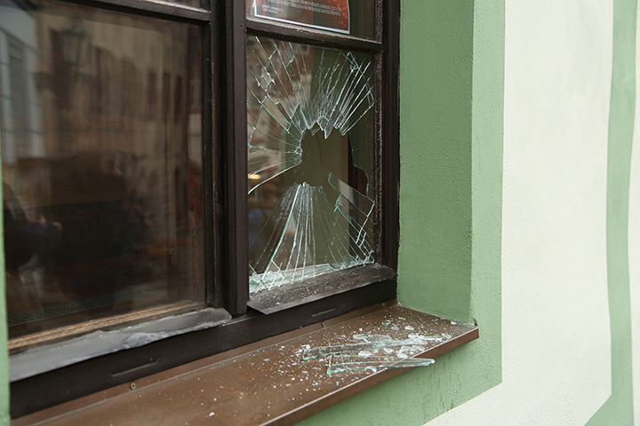 A2B Glass are able to board up broken windows while they are being repaired in Barnet.